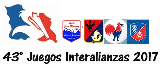 75 ALUMNOS DEPORTISTAS POR ALBERGAR - JUEGOS INTERALIANZAS 2017