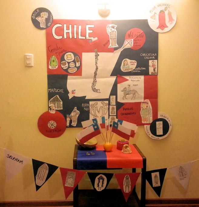 Stand Chile para Tahiti - Mundial Voleibol playa 2017