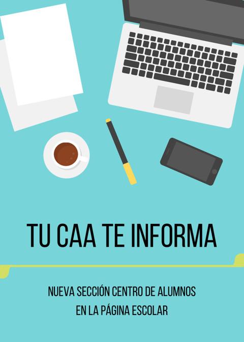 Primera publicación CAA 2017