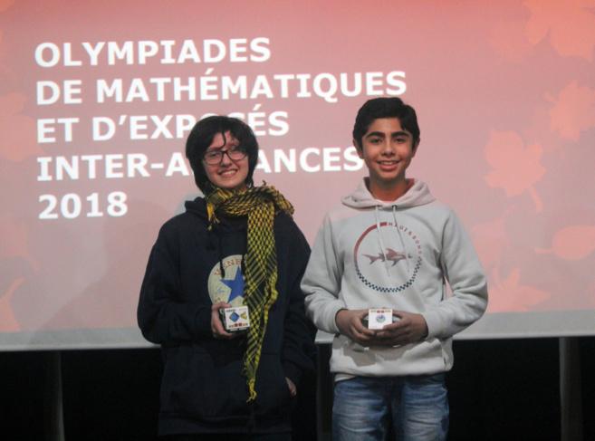 Les Olympiades de Mathématiques et Exposés en Francais 2018 - RETOUR EN IMAGES: