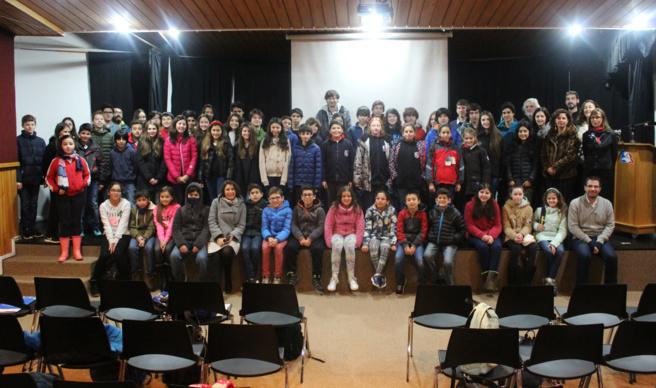 Délegations de Viña del Mar, Osorno, Curicó et Santiago.