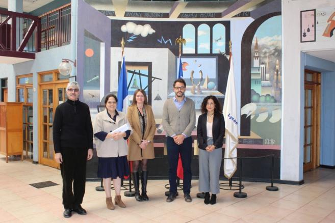 Visita de Christian Estrade, nuevo Consejero de Cooperación y Acción Cultural de la Embajada de Francia