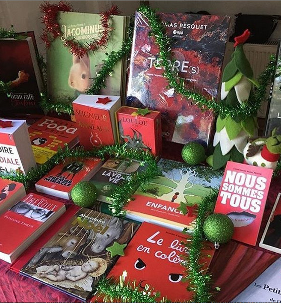 Mardi 3 décembre: La librairie Le Comptoir dans notre établissement!