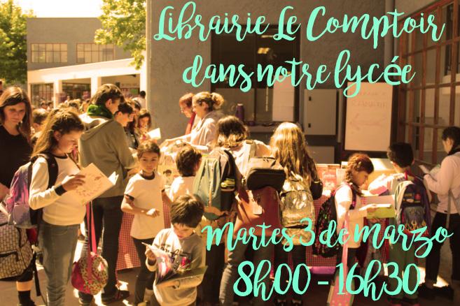 Libreria Le Comptoir en nuestro colegio