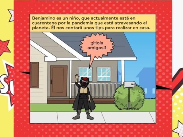 Comics Saluda física