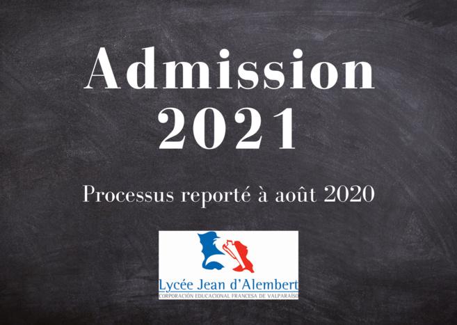 Admisiones 2021