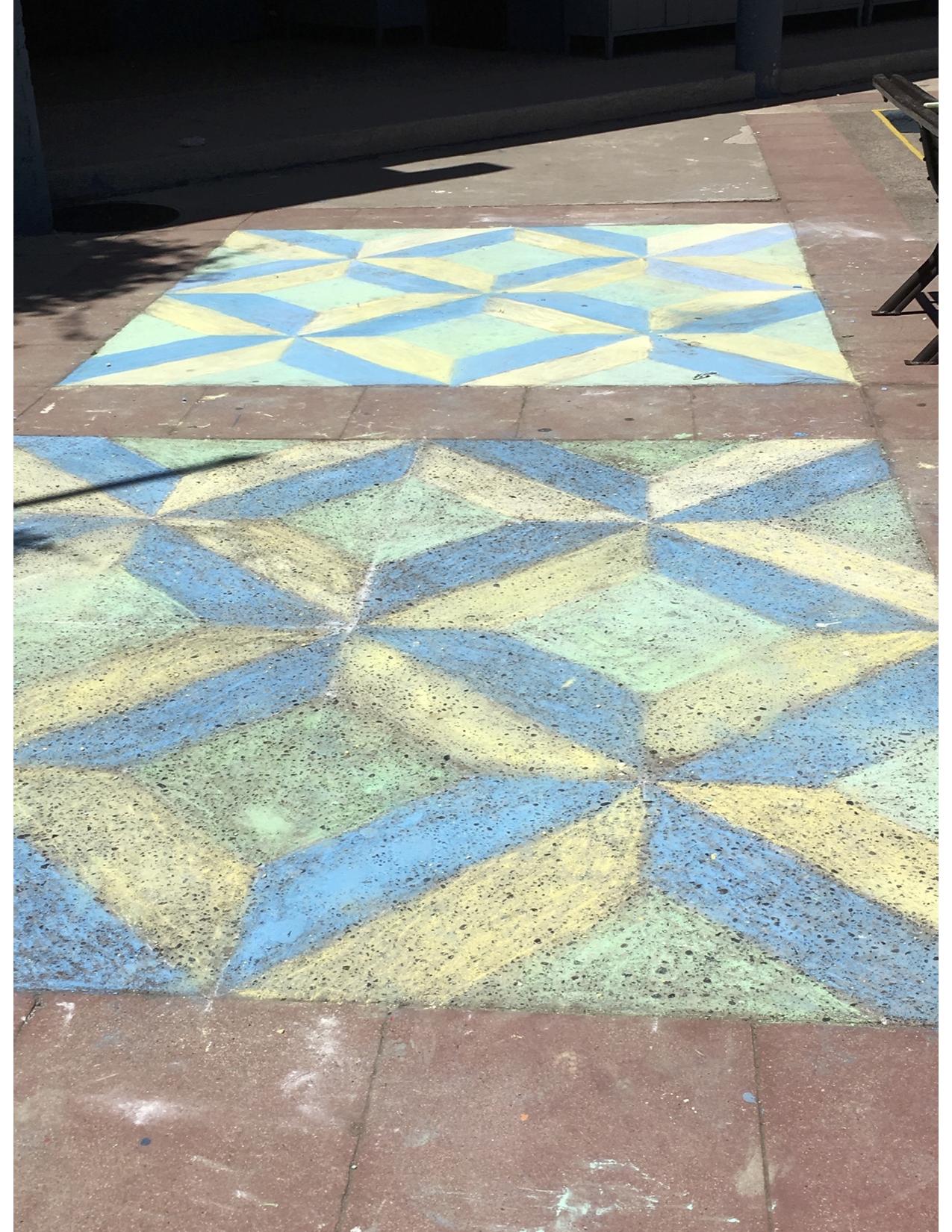 Géométrie dans la cour