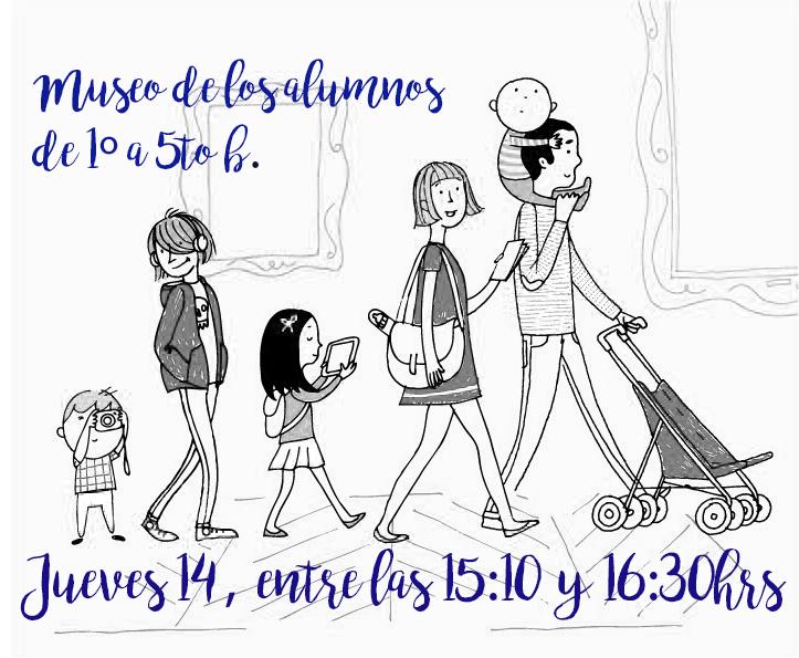 No se pierdan el museo de los alumnos de Élémentaire - 14 de diciembre