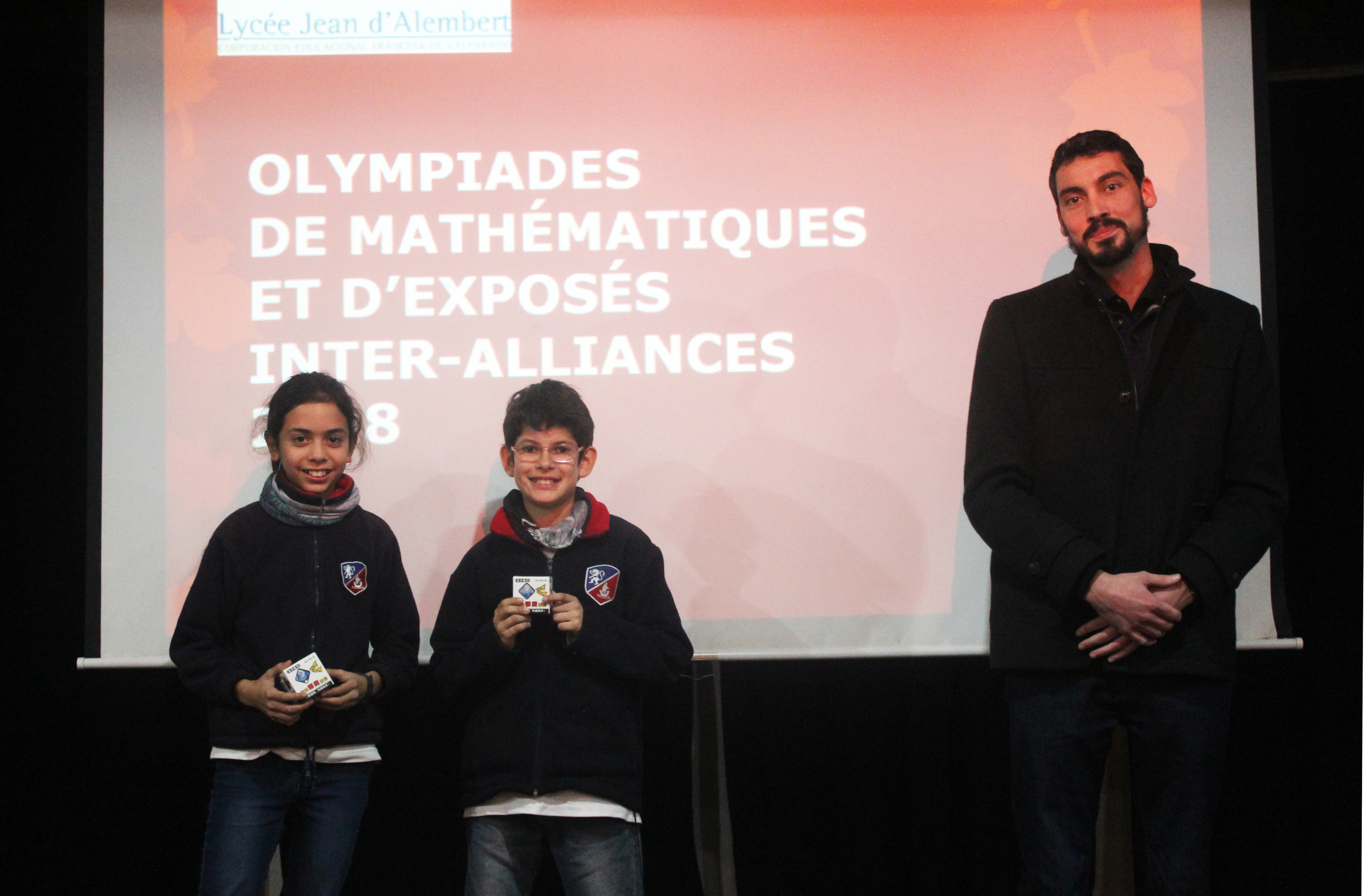 Prix remis par notre professeur Olivier Le Broch