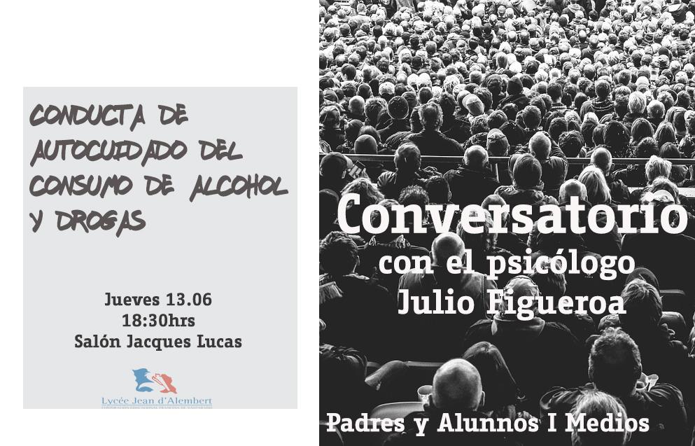 JUEVES 16.06 - INVITACIÓN PARA PADRES Y ALUMNOS DE I MEDIOS