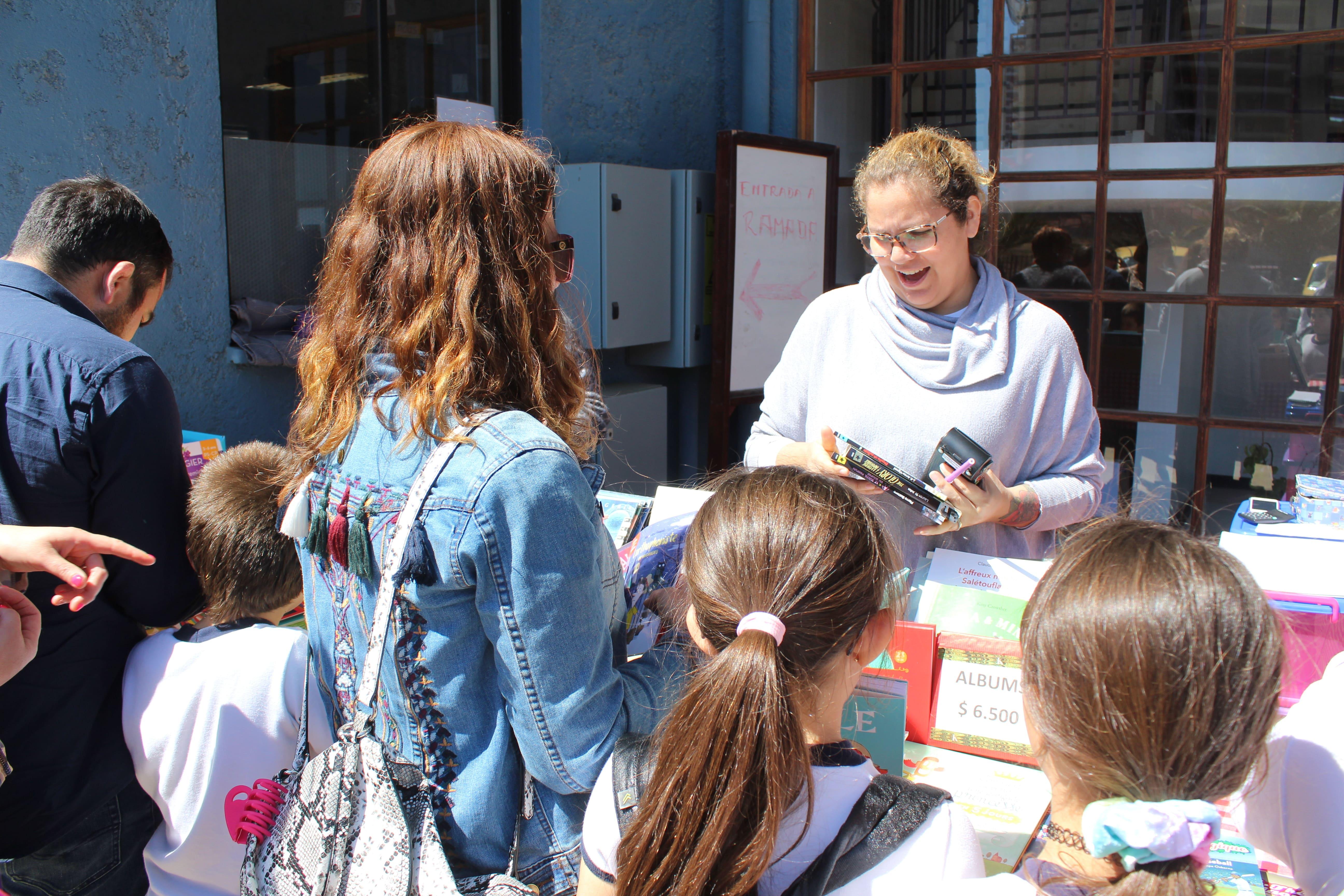 La librairie Le Comptoir en nuestro colegio el 15 de octubre