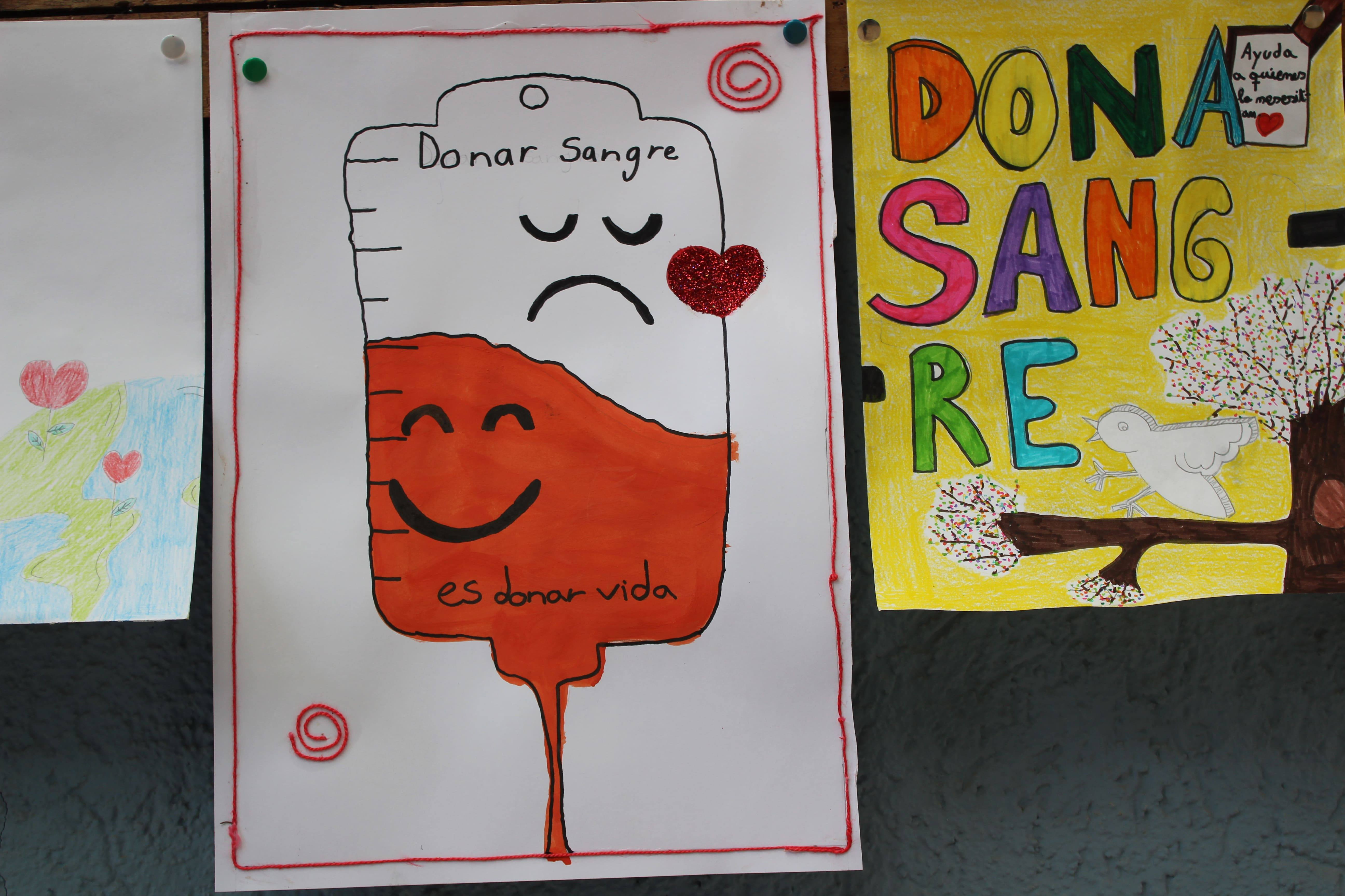 La Campaña de donación de sangre en imágenes