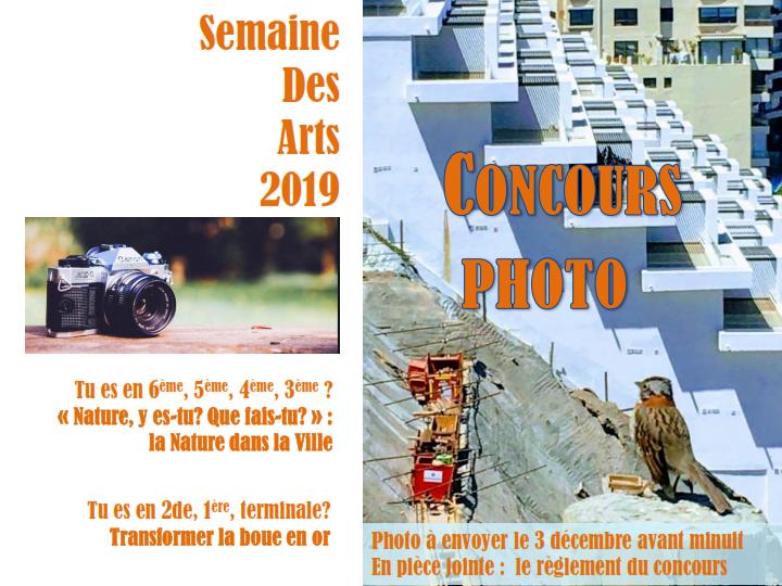 Semana de las Artes 2019: Concurso de Foto