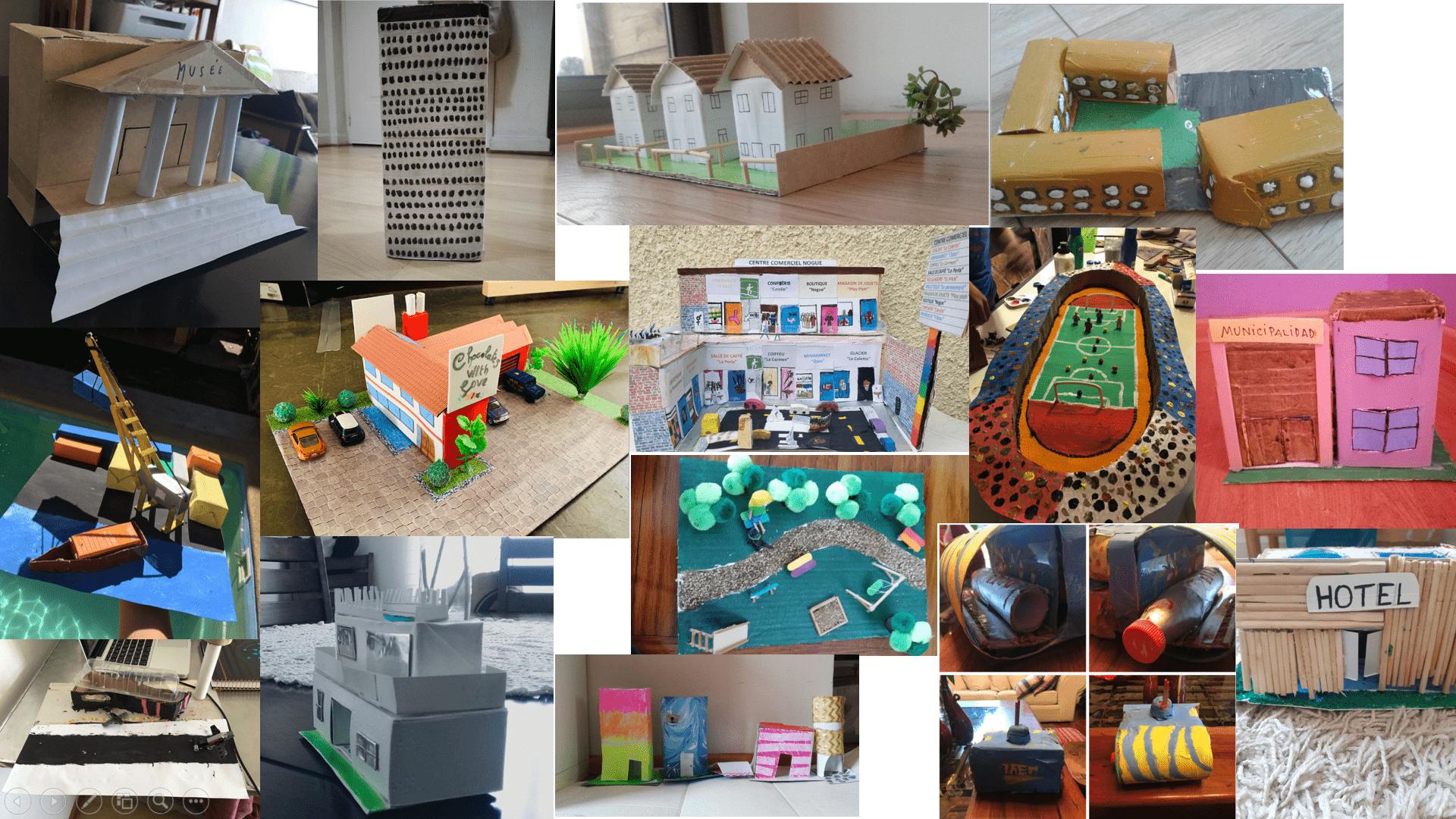 Construyamos juntos nuestra ciudad en miniatura