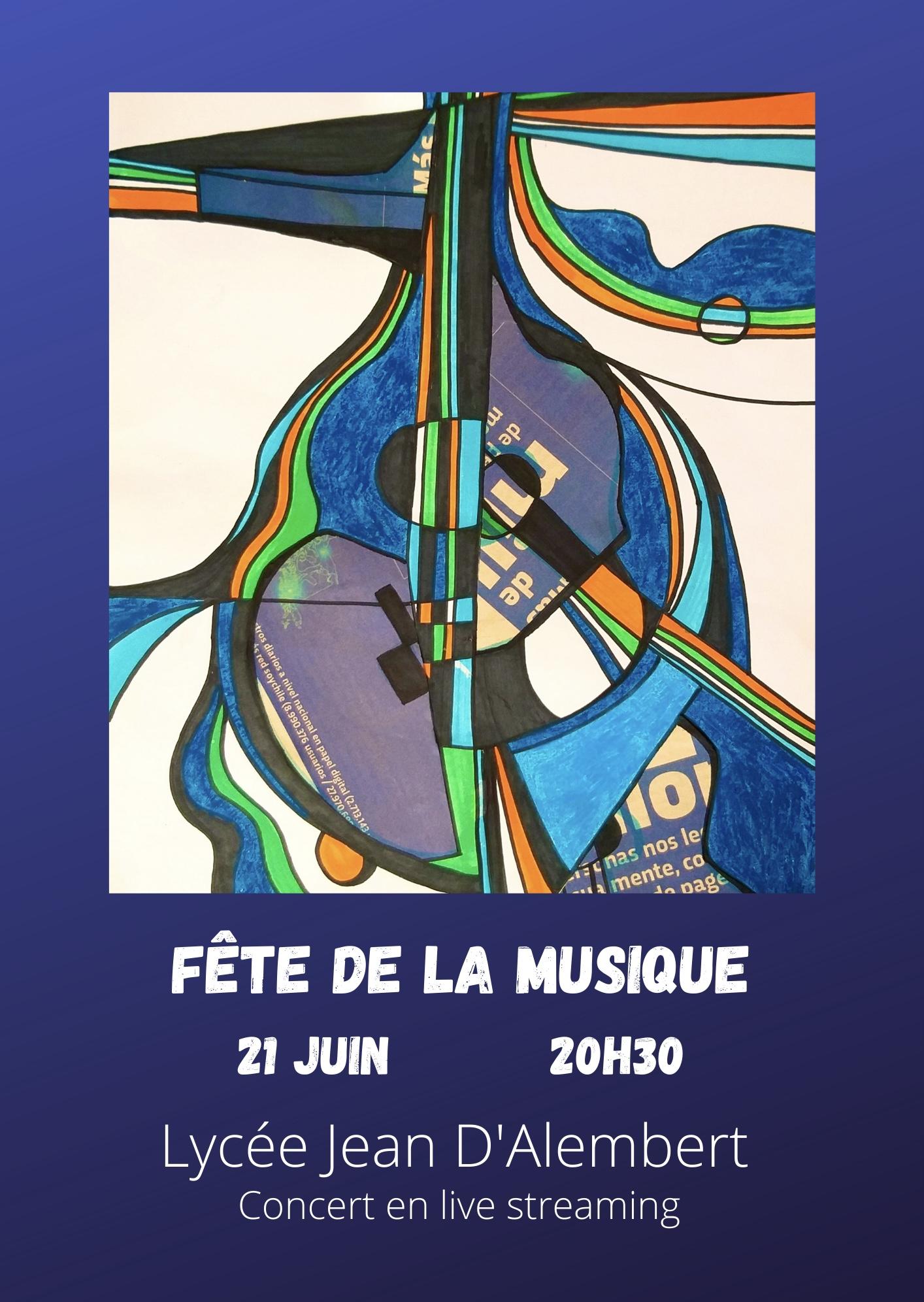 Fête de la musique 2021. ¡Invitación a participar!