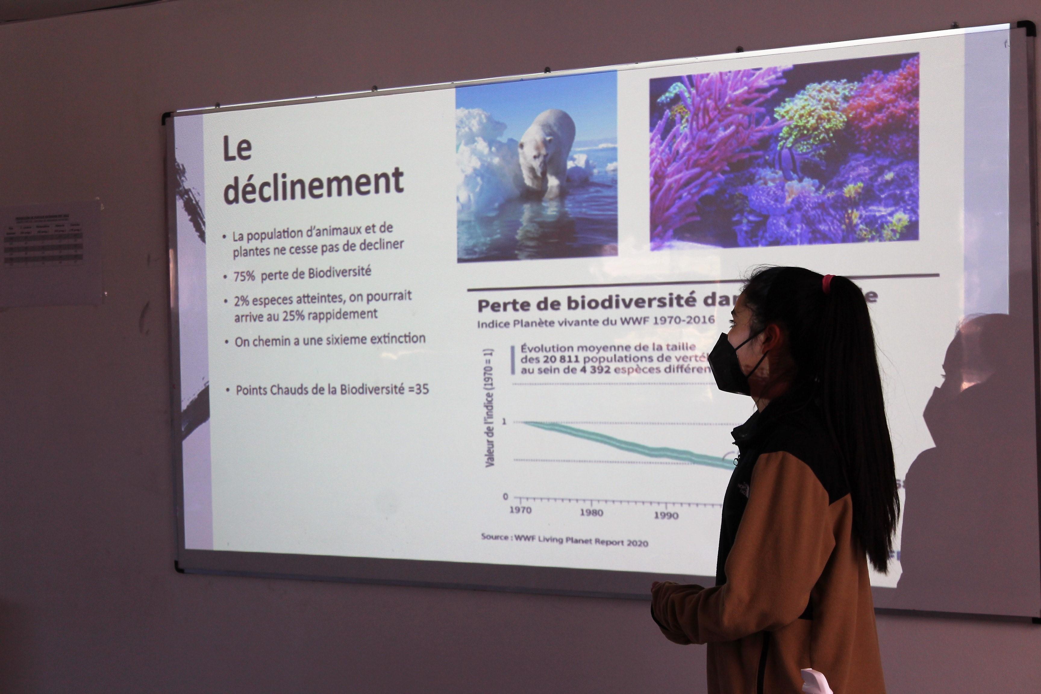 Mini conférence sur la biodiversité