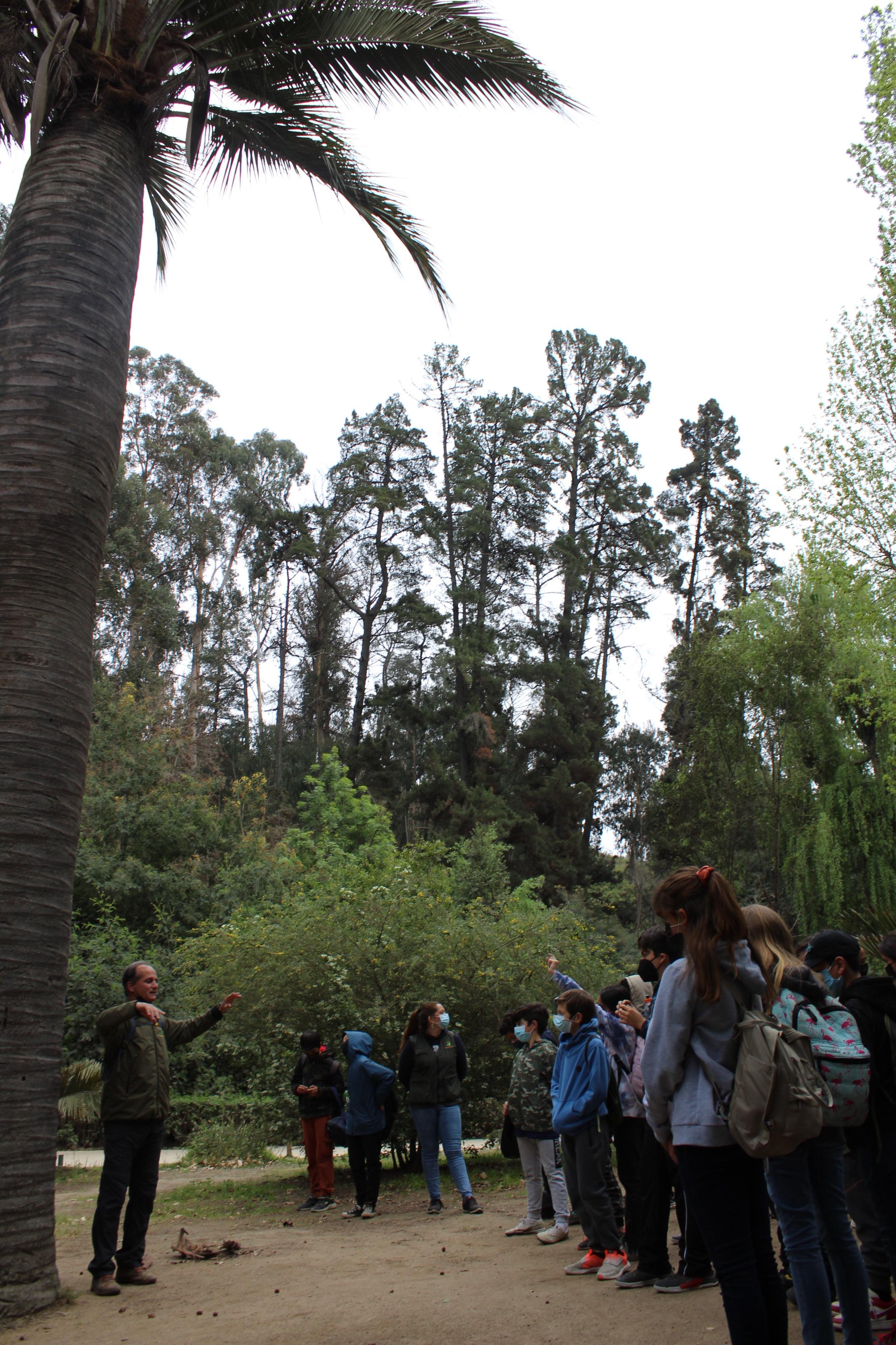 Semaine de la Science 2021 - Sortie au Jardin Botanique 6ème A-B-C