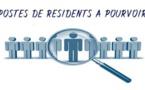 Recrutement de Résidents 2019