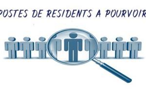 Recrutement de Résidents 2017