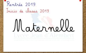 Rentrée Maternelle 2019: Guía de inicio de clases, lista de útiles y reuniones de inicio de año 2019