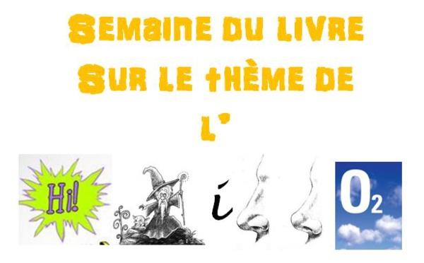 LA SEMAINE DU LIVRE DU DÉPARTEMENT DE FRANCAIS
