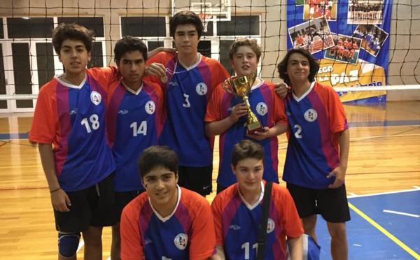 Torneo de Voleibol : Campeones categoría sub 15