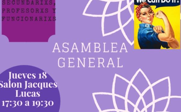 Asamblea de Mujeres #3 - jueves 18 de octubre