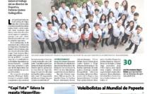 Alumnos del Lycée Jean d'Alembert ganan el torneo de Beach-Volley