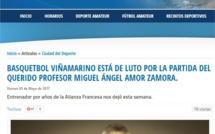 PROFESOR MIGUEL AMOR ZAMORA: VIÑA DEL MAR LO RECORDARÁ POR CIERTO