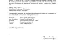 COMUNICADO - NUEVA DIRECTIVA DE LA CORPORACIÓN