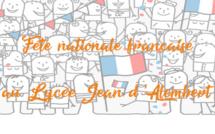 FETE NATIONALE FRANCAISE DU 14 JUILLET - PROGRAMME