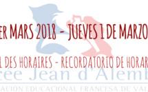 RECORDATORIOS DE 'RENTRÉE' 2018: