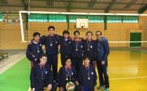 Alumnos campeones en la liga Amasvoley