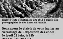 Invitación a la Exposición de nuestros 2ºM tras su VDE - 28 de junio