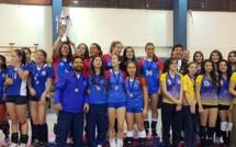 Campeonas de la copa 70 años del colegio St Dominic - Voleibol