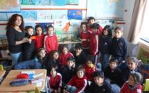 Un aquarium dans la classe de CE2 B