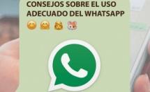 Consejos sobre el uso adecuado del Whatsapp