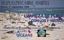 Proyecto 'DESPLASTIFICANDO HÁBITOS' en terreno para los 1ºmedios