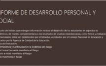 INFORME DE DESARROLLO PERSONAL