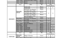 Talleres extra-programáticos 1er trimestre 2019 - Inscripción