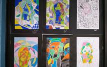 Créations cubistes par nos 2des - Creaciones cubistas por nuestros 2dos medios