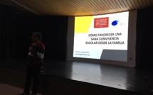 EXITOSA CHARLA DE FELIPE LECANNELIER - #CONVIVENCIAESCOLARLJDA