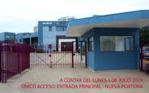 RÉOUVERTURE ACCÈS PRINCIPAL // REABRE EL ACCESO PRINCIPAL