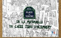 LA PLACE DU TERTRE DE LA MATERNELLE - Fête nationale française du 14 juillet