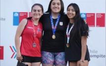 Atletas del Lycée en el Torneo Nacional de Atletismo
