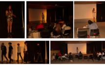 Les élèves de 4ème en scène
