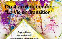 Du 4 au 6 décemble: Place à l'art dans notre établissement!